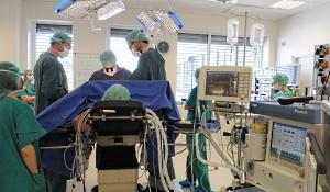 В больнице отделение гидро